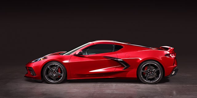 2020 Chevrolet Corvette Design: side profile